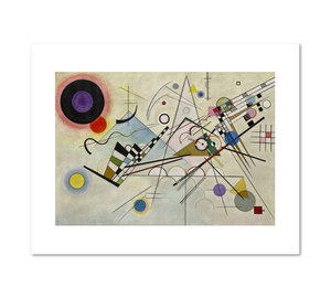 Vasily Kandinsky, Composition 8 (Komposition 8), 1923, Fine Art Prints in various sizes by Museums.Co