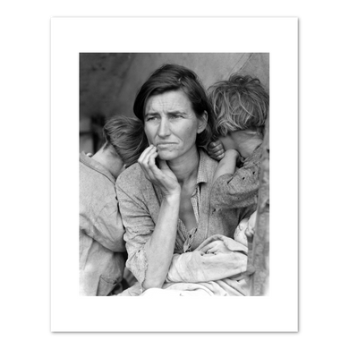 Dorothea Lange, Migrant Mother, Nipomo, California, 1936, Fine Art Prints in various sizes by Museums.Co