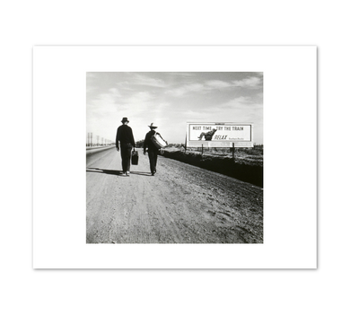 Dorothea Lange, Toward Los Angeles, California, 1937, Fine Art Prints in various sizes by Museums.Co