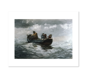 Winslow Homer, Crab Fishing, 1883, Fine Art Prints in 4 sizes by 2020ArtSolutions