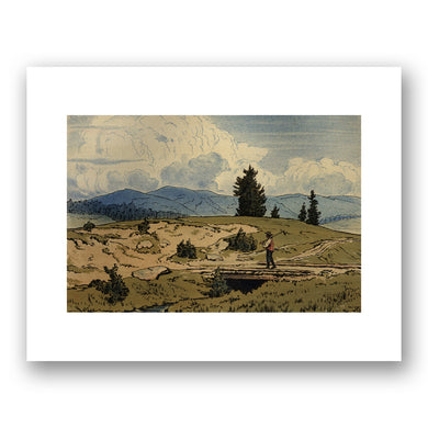 Hans Thoma, Landschaft/Landscape, 1896, Courtesy of Denenberg Fine Arts. Fine Art Prints in various sizes by Museums.Co