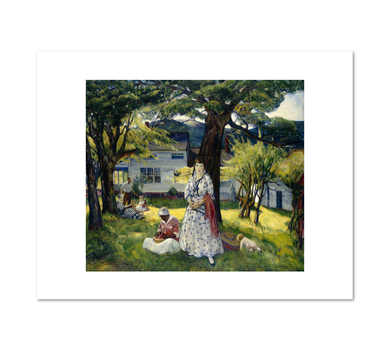 Leon Kroll, In the Country, Fine Art Prints in various sizes by Museums.Co