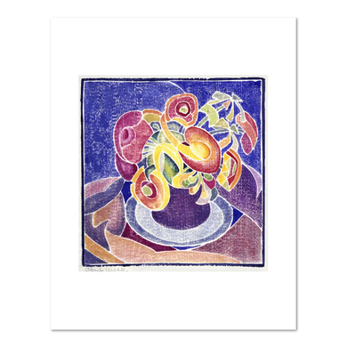 Blanche Lazzell, The Violet Jug, Fine Art Prints in various sizes by Museums.Co