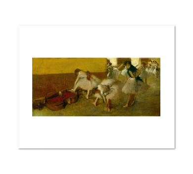 Edgar Degas, Dancers in the Green Room, Fine Art Prints in various sizes by Museums.Co