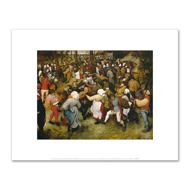 Pieter Bruegel the Elder, The Wedding Dance, Fine Art Prints in various sizes by Museums.Co