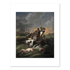John Singleton Copley, Watson and the Shark, Fine Art Prints in various sizes by Museums.Co
