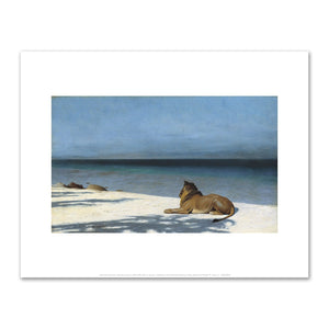 Jean-Léon Gérôme, Solitude, Fine Art Prints in various sizes by Museums.Co