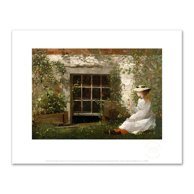 Winslow Homer, The Four-Leaf Clover, Fine Art Prints in various sizes by Museums.Co