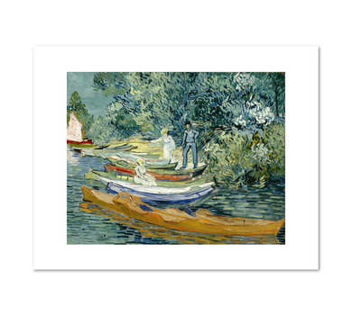 Vincent van Gogh, Bank of the Oise at Auvers, Fine Art Prints in various sizes by Museums.Co