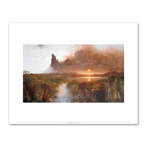 Frederic Edwin Church, Cotopaxi, Fine Art Prints in various sizes by Museums.Co