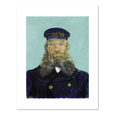 Vincent van Gogh, Portrait of Postman Roulin, Fine Art Prints in various sizes by Museums.Co