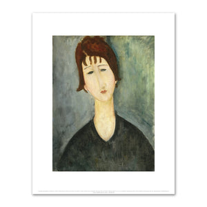 Amedeo Modigliani, A Woman, Fine Art Prints in various sizes by Museums.Co