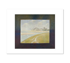Georges Seurat, View of Le Crotoy from Upstream, 1889, Fine Art Prints in various sizes by Museums.Co