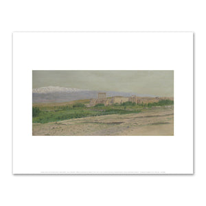 Frederic Edwin Church, View of Baalbek, Fine Art Prints in various sizes by Museums.Co
