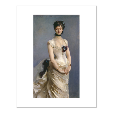 John Singer Sargent, Madame Paul Poirson, Fine Art Prints in various sizes by Museums.Co