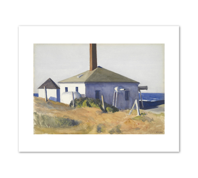 Edward Hopper, House of the Fog Horn, No. 3, 1929, Fine Art Prints in various sizes by Museums.Co