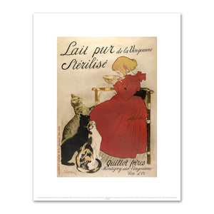 Théophile-Alexandre Steinlen, Lait Pur Sterilise, 1894, Fine Art Prints in various sizes by Museums.Co