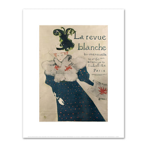 Henri de Toulouse-Lautrec, La Revue Blanche, 1895, Fine Art Prints in various sizes by Museums.Co