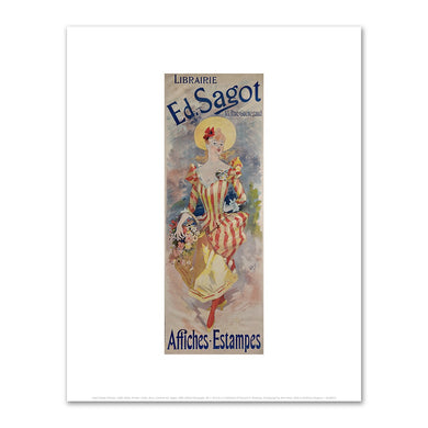 Jules Chéret, Librairie Ed. Sagot, 1891, Fine Art Prints in various sizes by Museums.Co