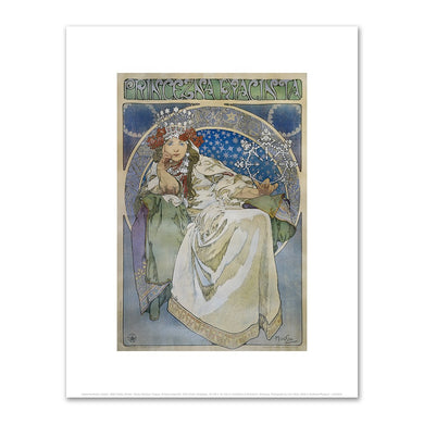 Alphonse Mucha, Princess Hyacinth, Fine Art Prints in various sizes by Museums.Co