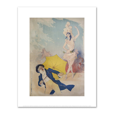 Jules Chéret, Folies-Bergère / Emilienne d'Alencon, 1893, Fine Art Prints in various sizes by Museums.Co