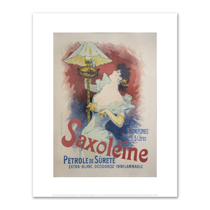 Jules Chéret, Saxoléine, Fine Art Prints in various sizes by Museums.Co