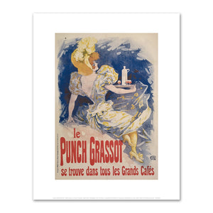 Jules Chéret, Le Punch Grassot, Fine Art Prints in various sizes by Museums.Co