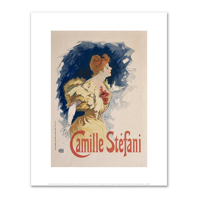 Jules Chéret, Camille Stéfani, Fine Art Prints in various sizes by Museums.Co
