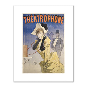 Jules Chéret, Théâtrophone, Fine Art Prints in various sizes by Museums.Co