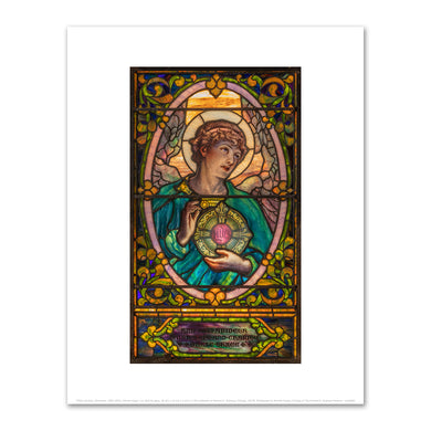 Tiffany Studios, (American, 1902-1932), Female Angel, n.d., Fine Art Prints in various sizes by Museums.Co