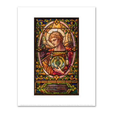 Tiffany Studios, (American, 1902-1932), Male Angel, n.d., Fine Art Prints in various sizes by Museums.Co