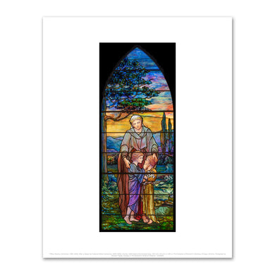 Tiffany Studios, (American, 1902-1932), After a design by Frederick Wilson (American, 1858-1938), Charity, 1925, Fine Art prints in various sizes by Museums.Co