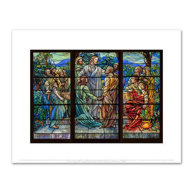 Tiffany Glass Company (American, 1885-1892), Designed by Frederick Wilson (American, 1858-1938), Christ and the Apostles, ca. 1890, Fine Art Prints in various sizes by Museums.Co