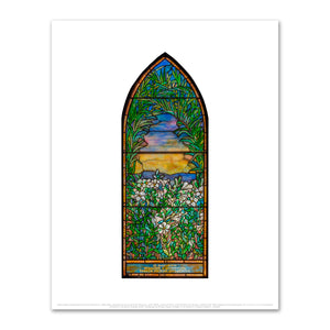 Lilies and Palms, Underhill Memorial Window by Tiffany Glass and Decorating Company