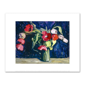 Jane Peterson, Still Life with Flowers (tulips), ca. 1925–1930, Art Prints in 4 sizes by 2020ArtSolutions