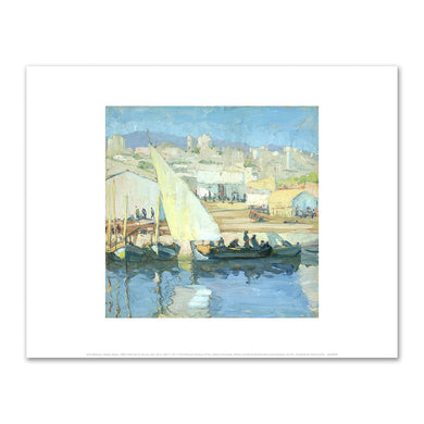 Jane Peterson, Harbor Scene, 1905–1915, Art Prints in 4 sizes by 2020ArtSolutions