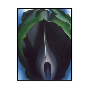 Jack-in-the-Pulpit No. IV by Georgia O'Keeffe Artblock