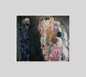 Death and Life by Gustav Klimt Artblock
