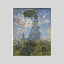 Woman with a Parasol by Claude Monet Artblock