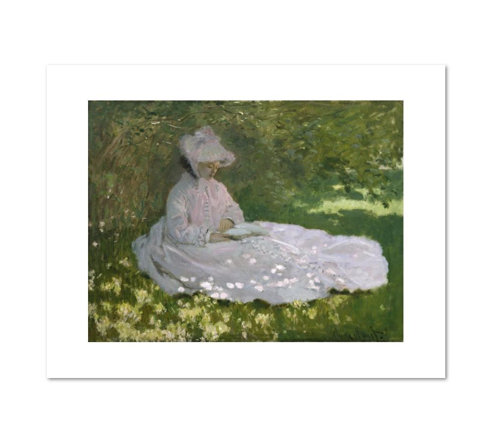 Springtime by Claude Monet Archival Print