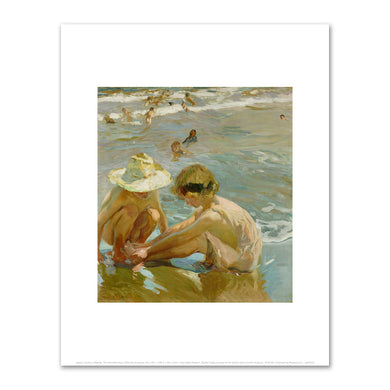Joaquin Sorolla y Bastida, The Wounded Foot, 1909, J. Paul Getty Museum, Fine Art Prints in various sizes by Museums.Co