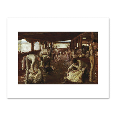 Tom Roberts, The Golden Fleece, 1894, Art Gallery of New South Wales. Fine Art Prints in various sizes by Museums.Co