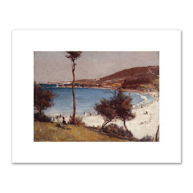 Tom Roberts, Holiday sketch at Coogee, 1888, Art Gallery of New South Wales. Fine Art Prints in various sizes by Museums.Co