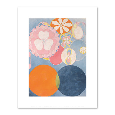 Hilma af Klint, Group IV, The Ten Largest, No. 2, Childhood, 1907, Fine Art prints in various sizes by Museums.Co