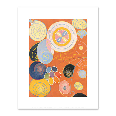 Group IV, The Ten Largest, No. 3 Youth by Hilma af Klint