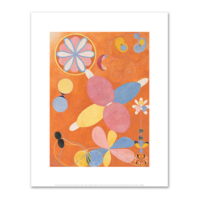 Hilma af Klint, Group IV, The Ten Largest, No. 4, Youth, 1907, Fine Art Prints in various sizes by Museums.Co