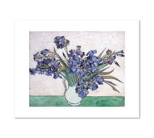 Vincent van Gogh, Irises, 1890, Fine Art Prints in various sizes by Museums.Co