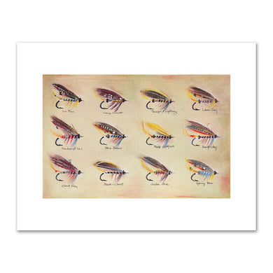 Kirsten Söderlind, Irish Salmon Flies, 1998, Fine Art Prints in various sizes by Museums.Co