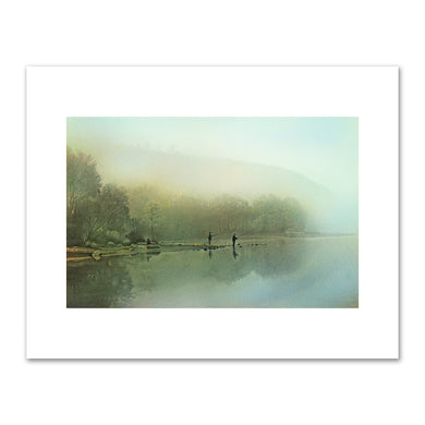 Kirsten Söderlind, Fishing at Dawn, 1998, Fine Art Prints in various sizes by Museums.Co