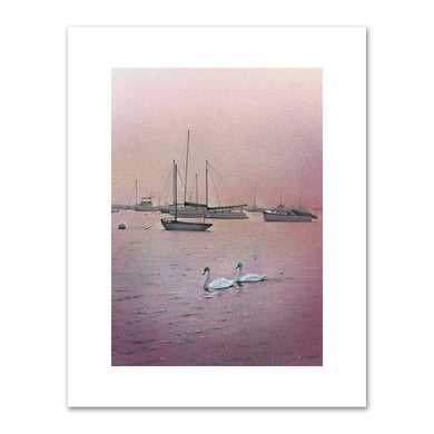 Kirsten Soderlind, Watch Hill Swans, 1998, ine Art Prints in various sizes by Museums.Co